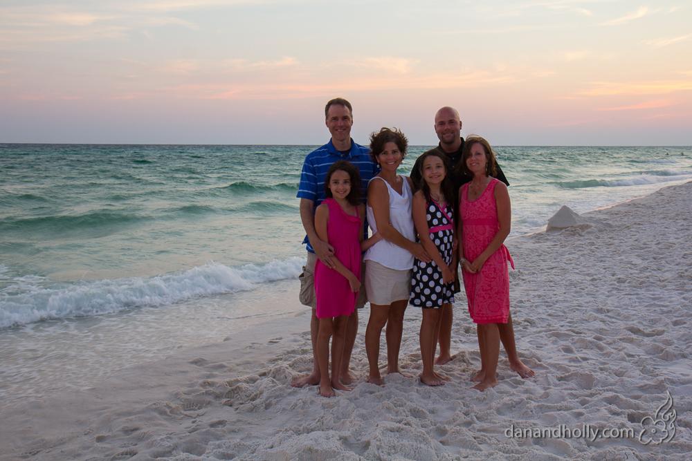 Destin Family Portrait